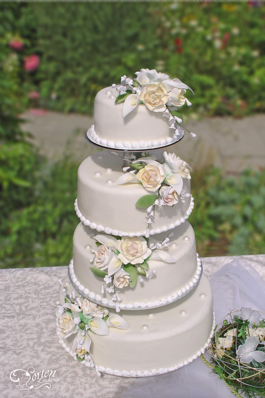 Hochzeitstorte Mit Rosen  Hochzeitstorten Klassisch Hochzeitstorten Schlidt