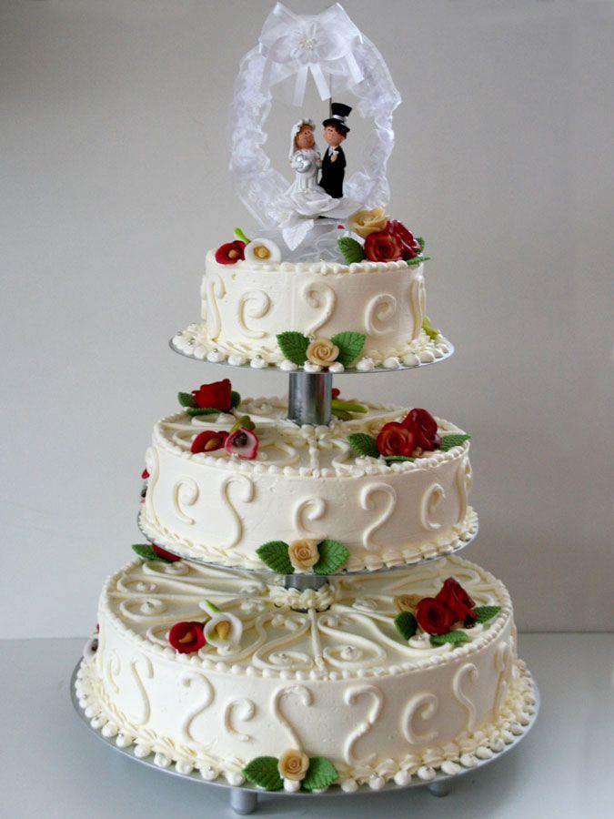 Hochzeitstorte Mit Rosen  17 Best images about Tabler Hochzeitstorten on Pinterest