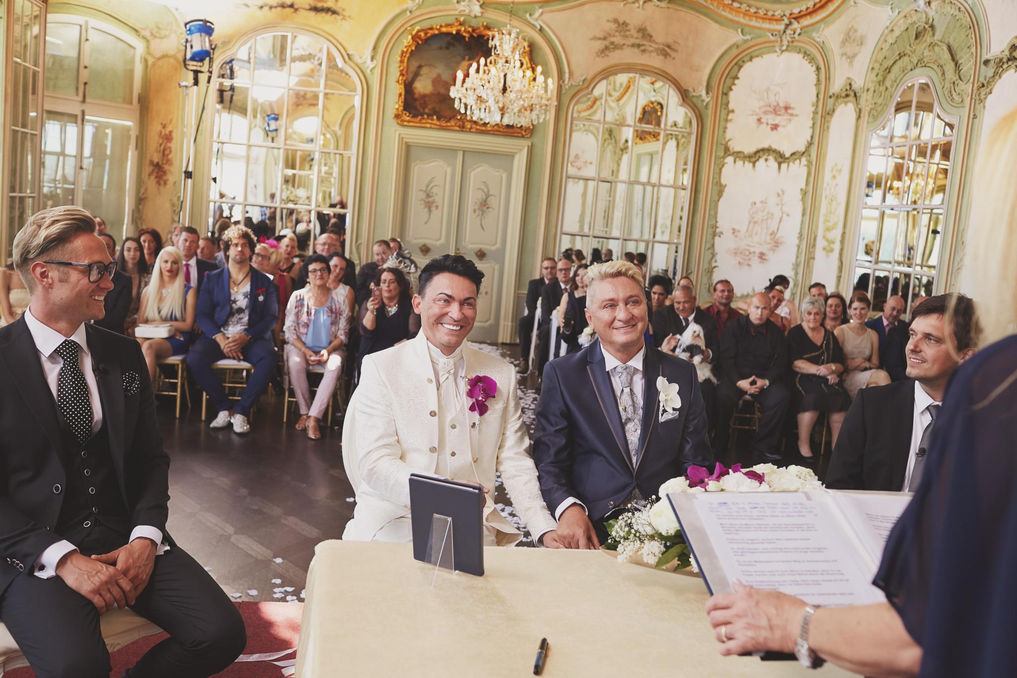 Hubert Und Matthias Die Hochzeit  Hubert und Matthias So romantisch was das Ja Wort