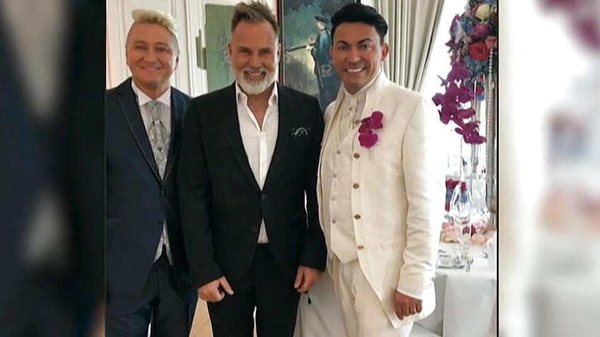 Hubert Und Matthias Die Hochzeit  So märchenhaft haben Matthias Mangiapane und Hubert Fella