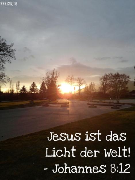 """Ich Bin Das Licht Der Welt  Jesus """"Ich bin das Licht der Welt"""""""