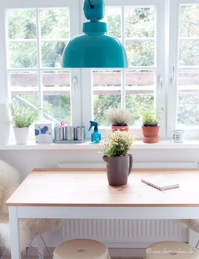Ikea Beistelltisch Küche  Ikea Hittarp Landhausküche ein Raum der glücklich macht