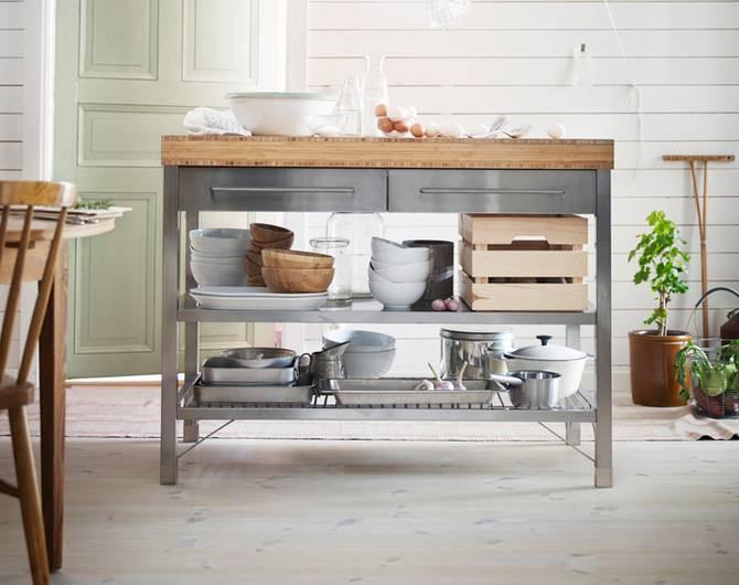 Ikea Beistelltisch Küche  zuhause bei IKEA Februar 2016