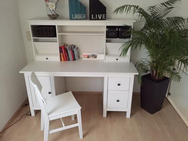 Ikea Hemnes Schreibtisch  Ikea Schreibtisch Weiß Hemnes – Nazarm