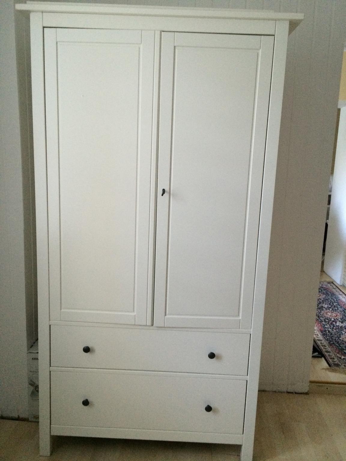 Ikea Kleiderschrank  Gebraucht Ikea Kleiderschrank Hemnes weiß in 4020 Linz um
