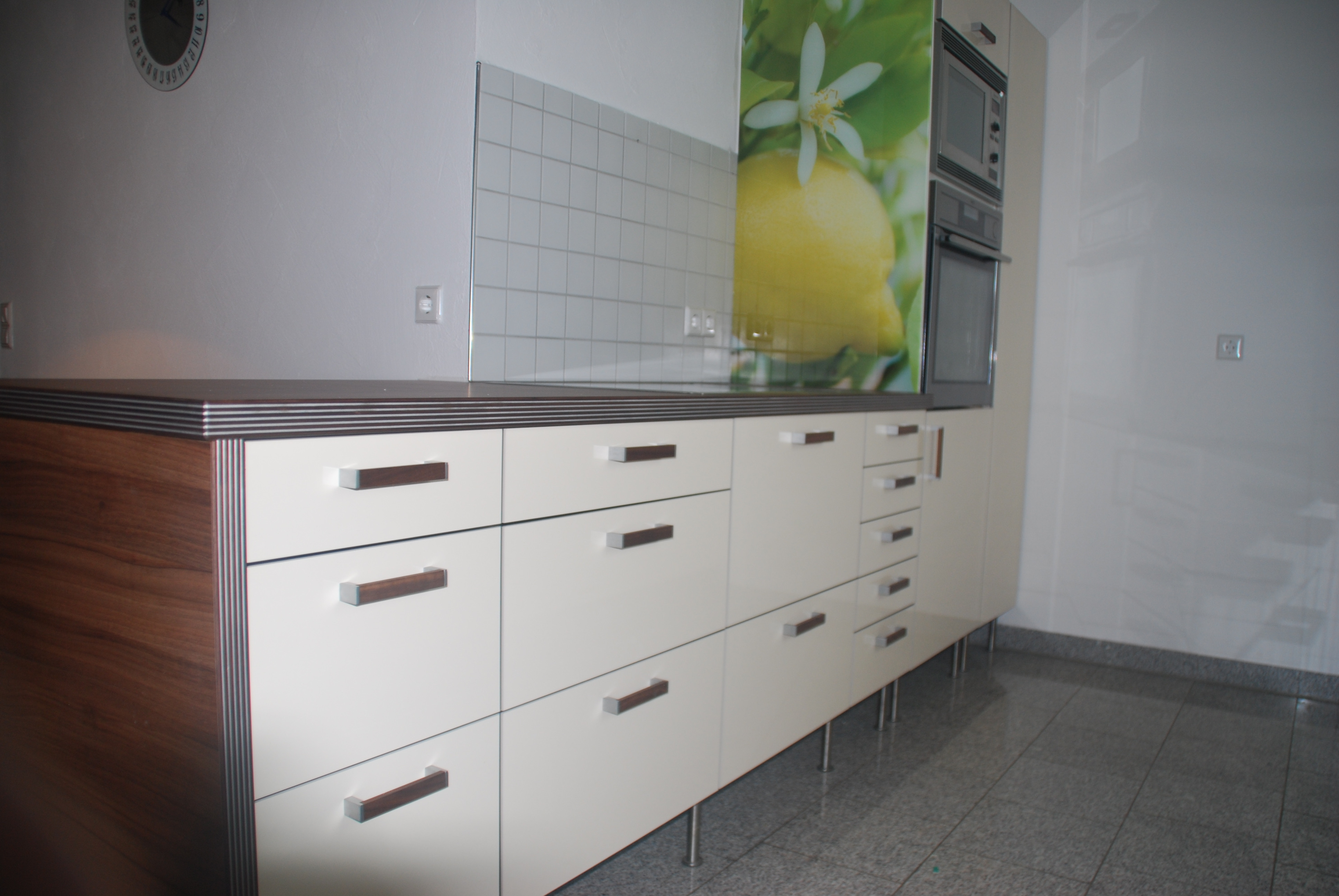Ikea Küchen Fronten  Neue Küchenfronten in Hochglanz auf IKEA Küche