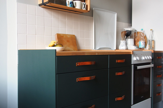 Ikea Küchen Fronten  Küchenfronten von Ikea lackieren – HyggeLiG