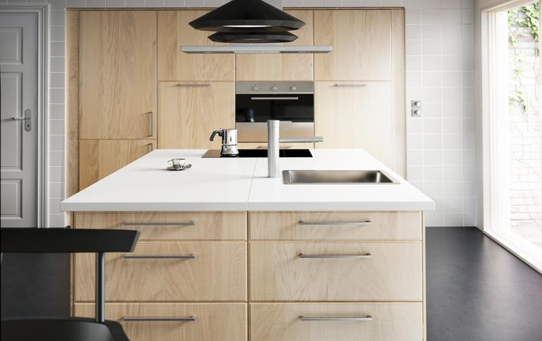"Ikea Küchen Fronten  Küchenfronten ""Norje"" in Handmade Optik bei Ikea"
