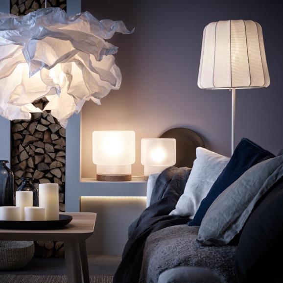 Ikea Lampen Wohnzimmer  Die perfekte Beleuchtung im Wohnzimmer Schlafzimmer und