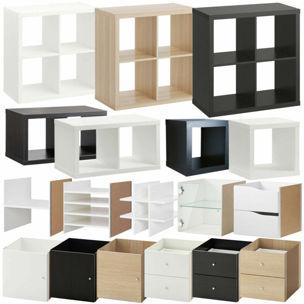 "Ikea Regale  IKEA Regal ""KALLAX"" Aufbewahrungs System 1 2 4 Fach Tür"