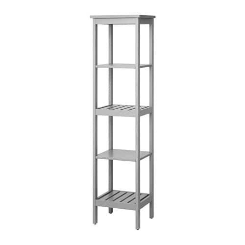 Ikea Regale  HEMNES Regal grau IKEA