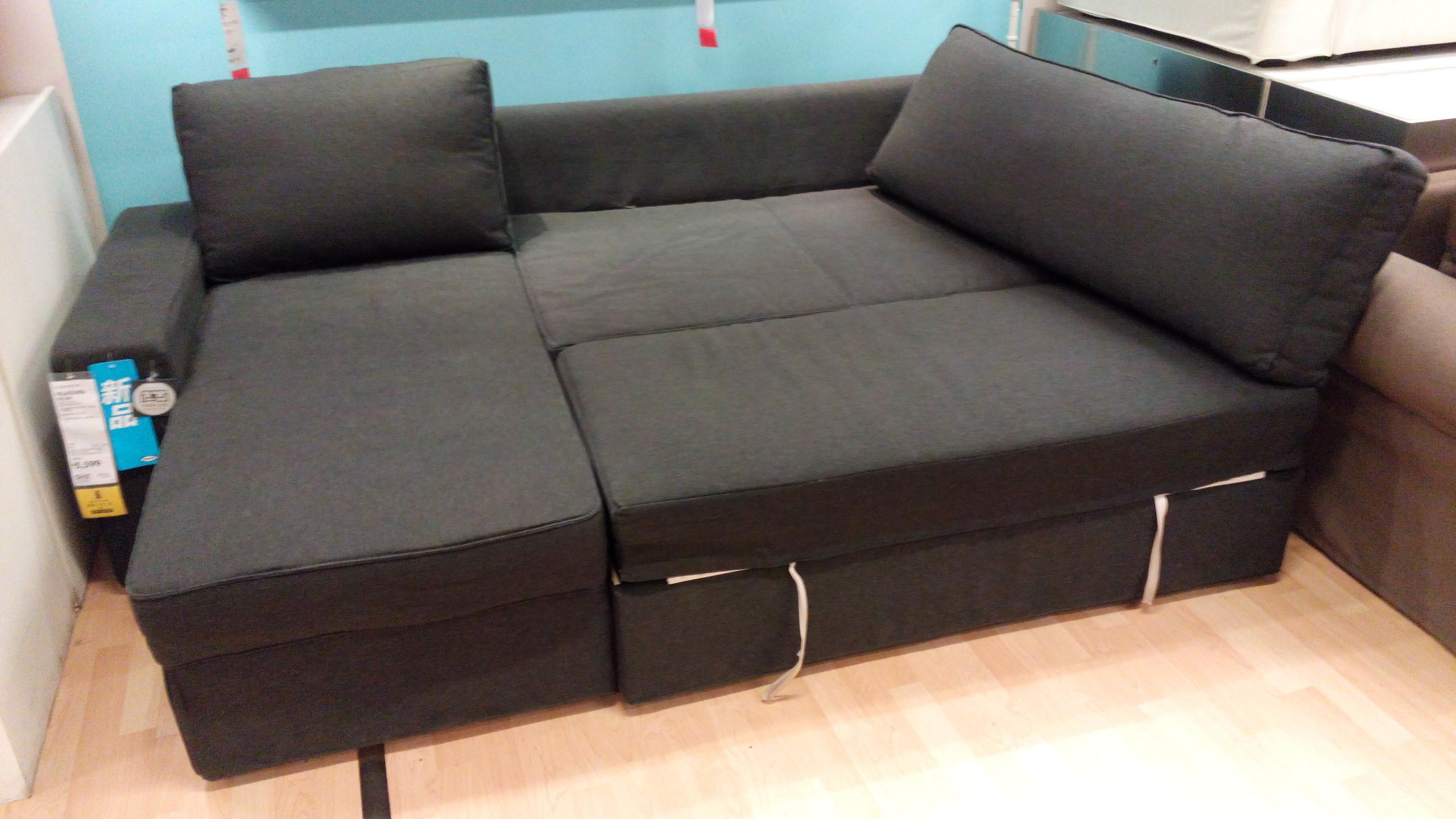 Ikea Sofa  IKEA Vilasund and Backabro Review Return of the Sofa Bed