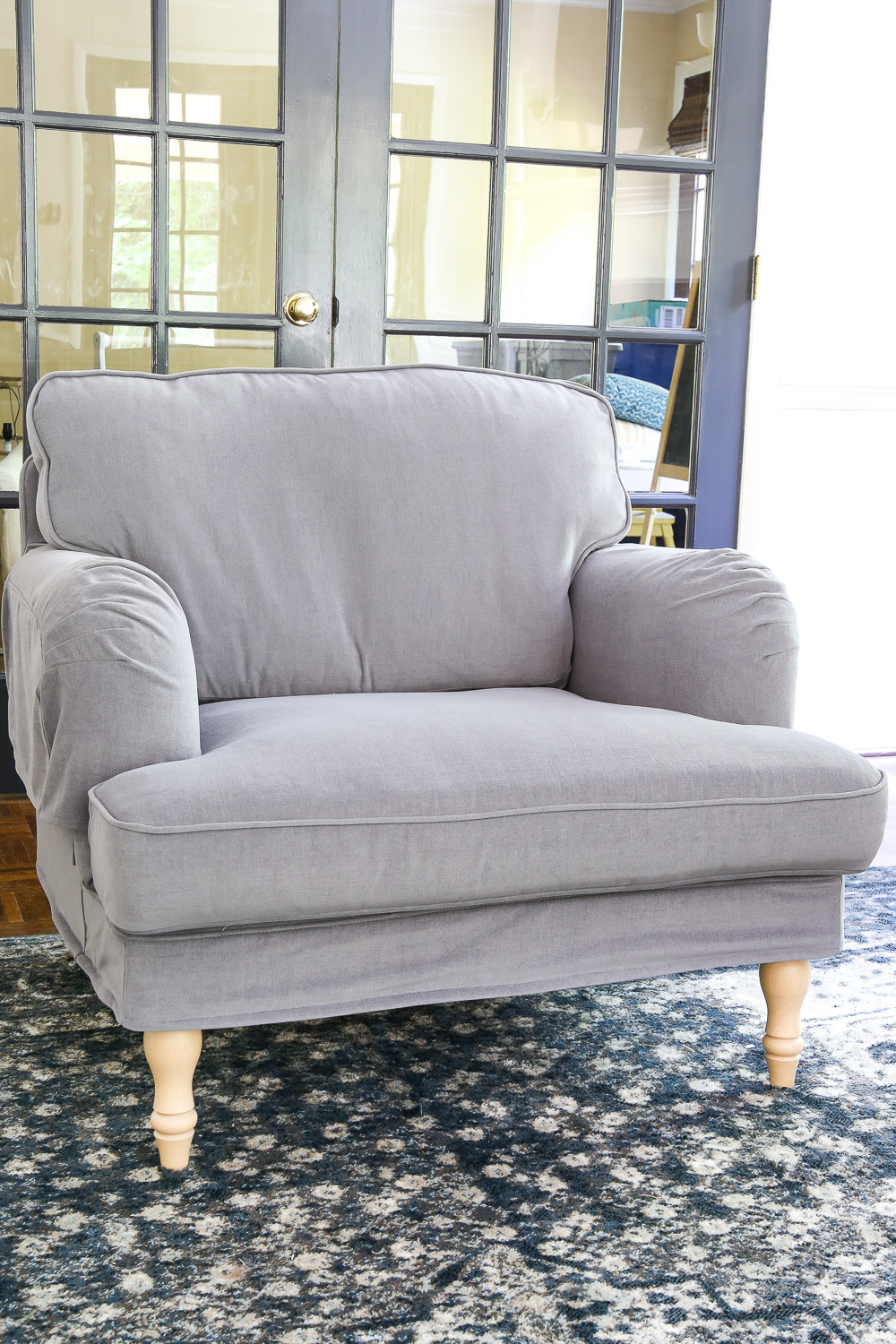 Ikea Sofa  IKEA s New Sofa and Chairs and How to Keep Them Clean