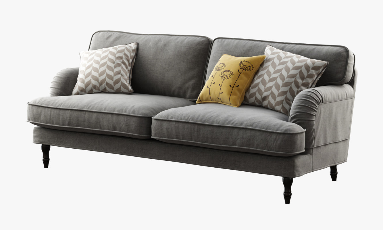 Ikea Sofa  3d ikea stocksund sofa model