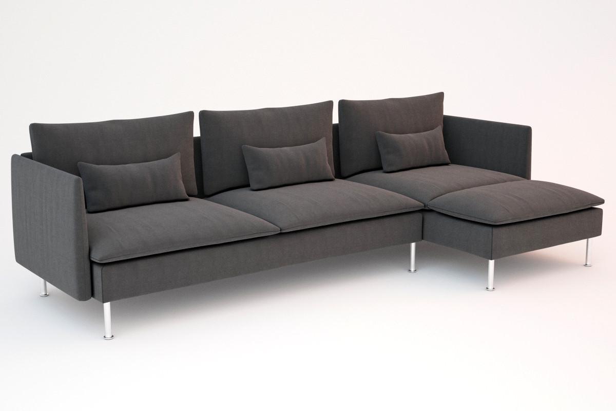 Ikea Sofa  ikea soderhamn sofas 3D Models CGTrader