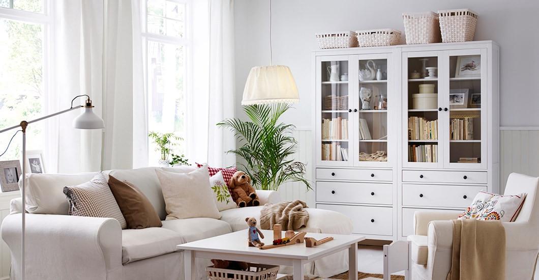 Ikea Wohnzimmer  HEMNES Wohnzimmerserie IKEA