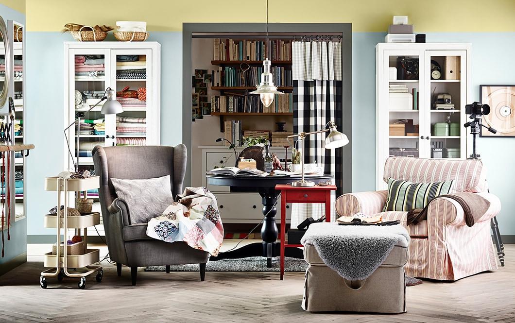 Ikea Wohnzimmer  Wohnzimmer gemütlich einrichten Ideen IKEA