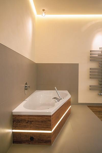 Indirekte Beleuchtung Bad  So können Sie sich Natur in Ihr Badezimmer holen