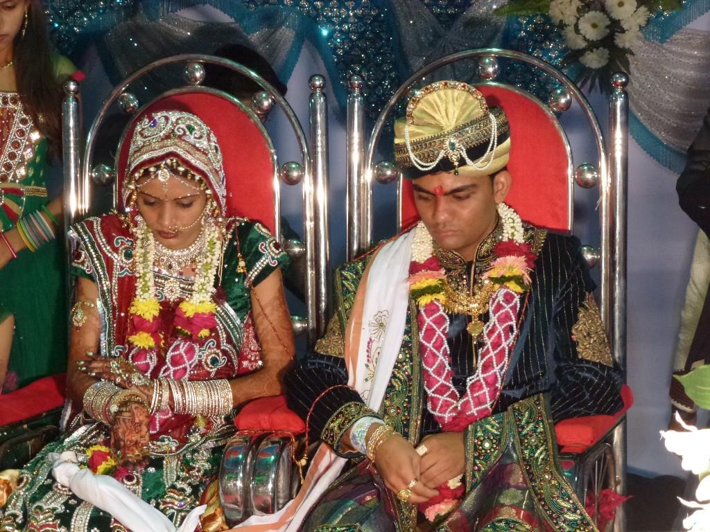 Indische Hochzeit Kleidung  Eine indische Hochzeit Christinas Reise