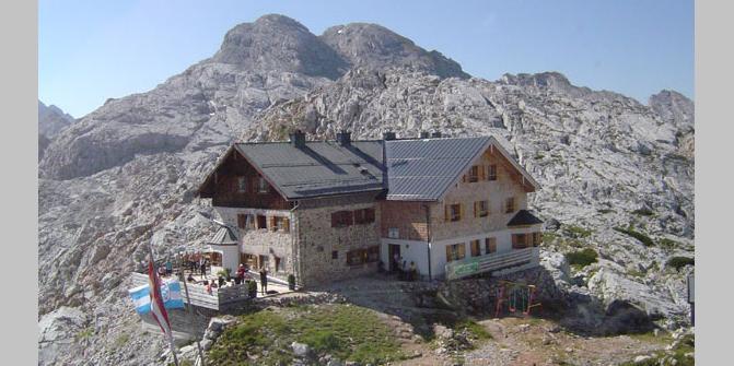 Ingolstädter Haus  Ingolstädter Haus • Bewirtschaftete Hütte