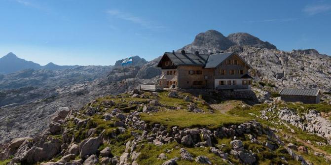 Ingolstädter Haus  Von der Wimbachgrießhütte zum Ingolstädter Haus über