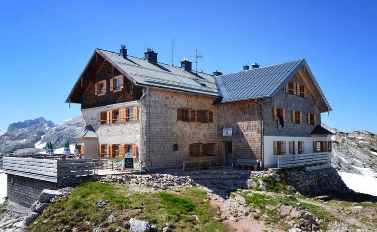 Ingolstädter Haus  Berghütten & Jausenstation Hütten in den Berchtesgadener