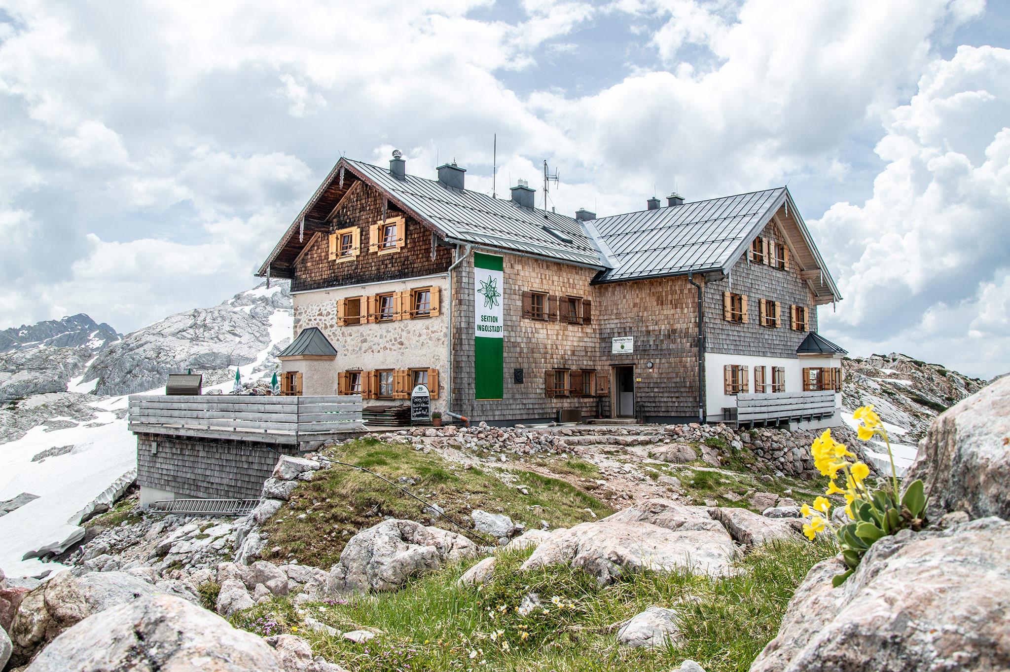Ingolstädter Haus  Ingolstädter Haus Frühling Bergerlebnis & Alpenstadt Blog