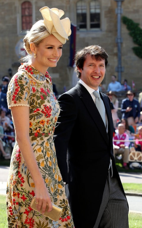 James Blunt Hochzeit  James Blunt Sofia Wellesley