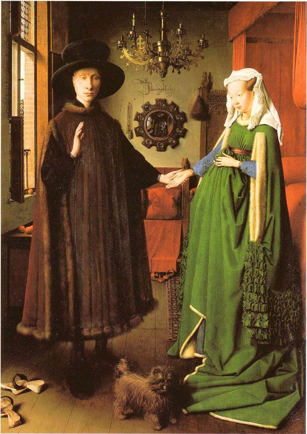 Jan Van Eyck Arnolfini Hochzeit  Frühe niederländische Malerei Jan van Eyck Arnolfini