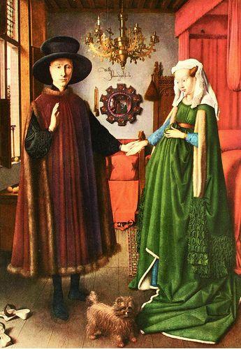 Jan Van Eyck Arnolfini Hochzeit  Jan van Eyck s The Arnolfini Marriage in 2019