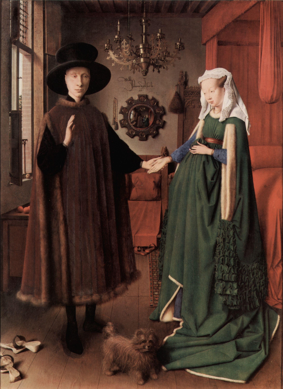Jan Van Eyck Arnolfini Hochzeit  Eyck Jan van Arnolfini Hochzeit Zeno