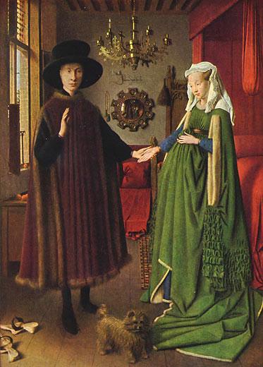Jan Van Eyck Arnolfini Hochzeit  MEISTERWERKE ONLINE DE Giovanni Arnolfini und seine