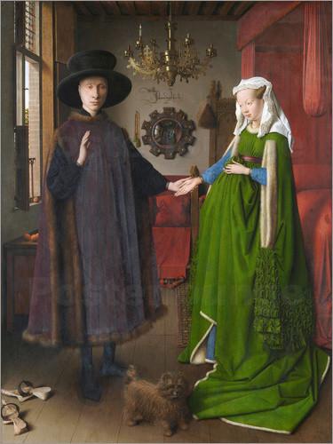 Jan Van Eyck Arnolfini Hochzeit  Jan van Eyck Bilder online bestellen