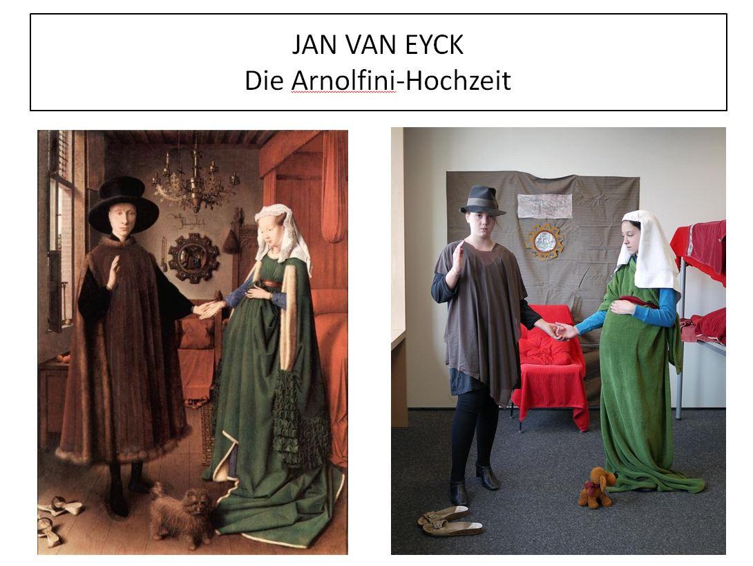 Jan Van Eyck Arnolfini Hochzeit  Jan Van Eyck – Die Arnolfini Hochzeit