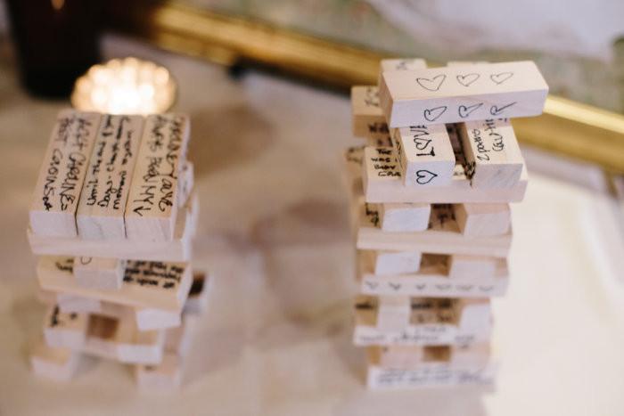 Jenga Hochzeit  Gästebuch zur Hochzeit Die schönsten Alternativen & Klassiker