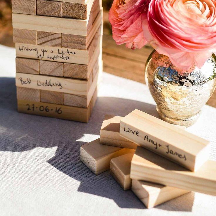Jenga Hochzeit  Best 25 Jenga wedding ideas on Pinterest