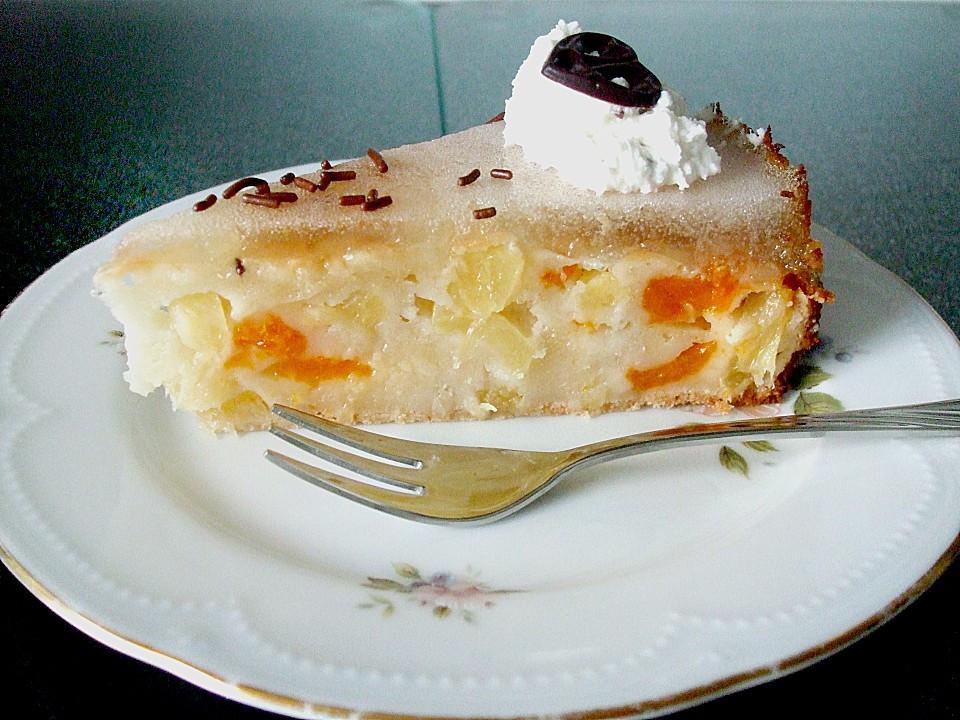 Joghurt Kuchen  Ananas Joghurt Kuchen von Simone11