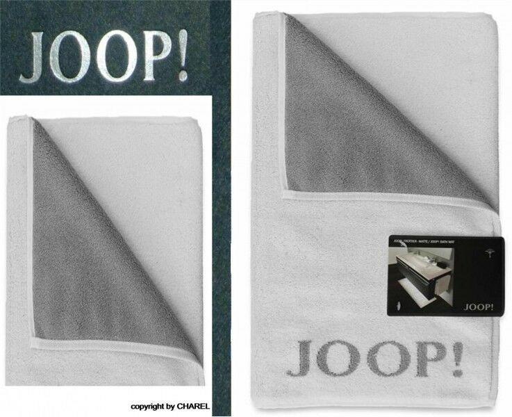 Joop Badematte  JOOP BADEMATTE DUSCHMATTE 1600 UNI WEISS SILBER 67