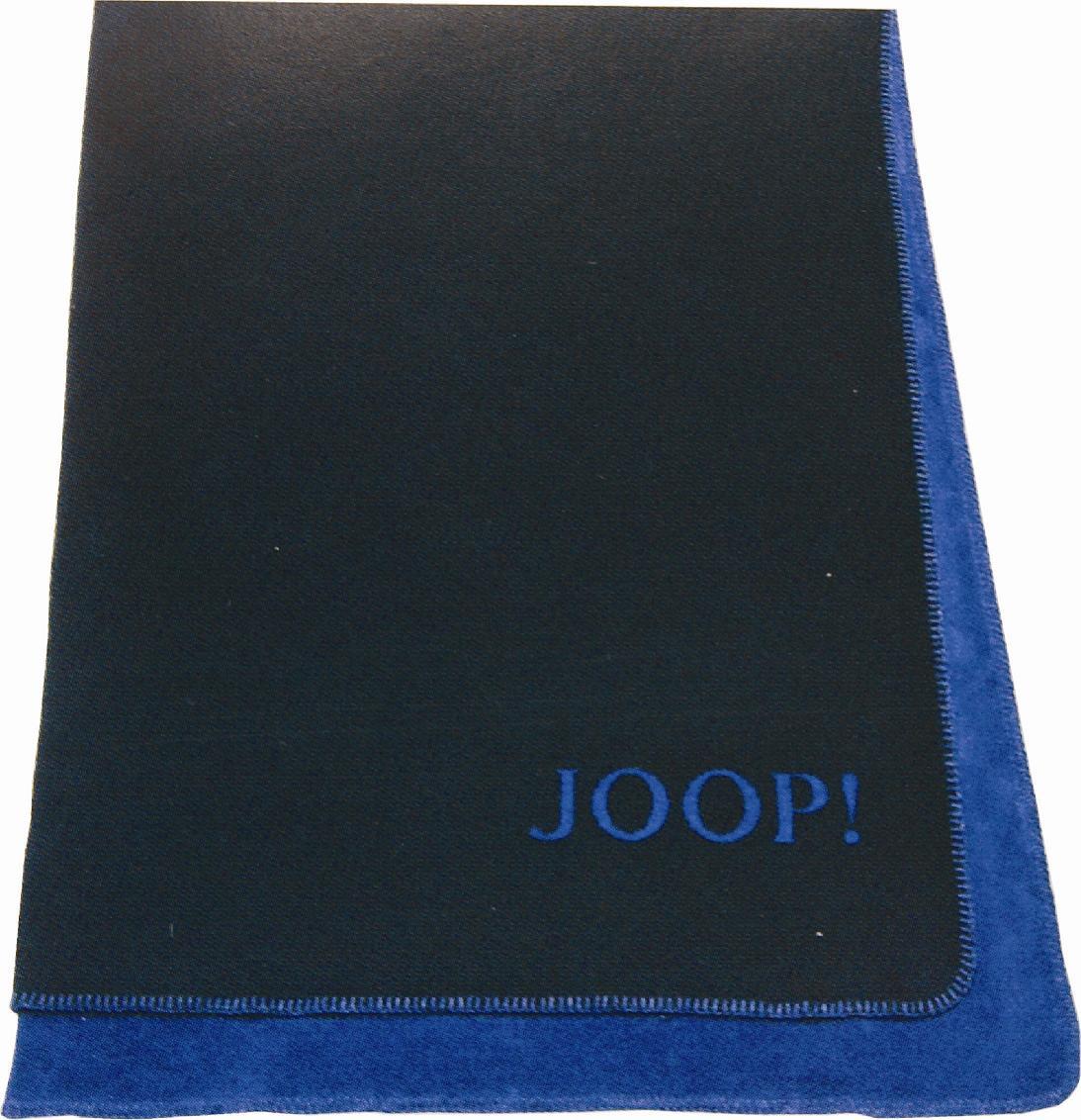 Joop Decke  JOOP Uni Doubleface Wohndecke Kuscheldecke Decke