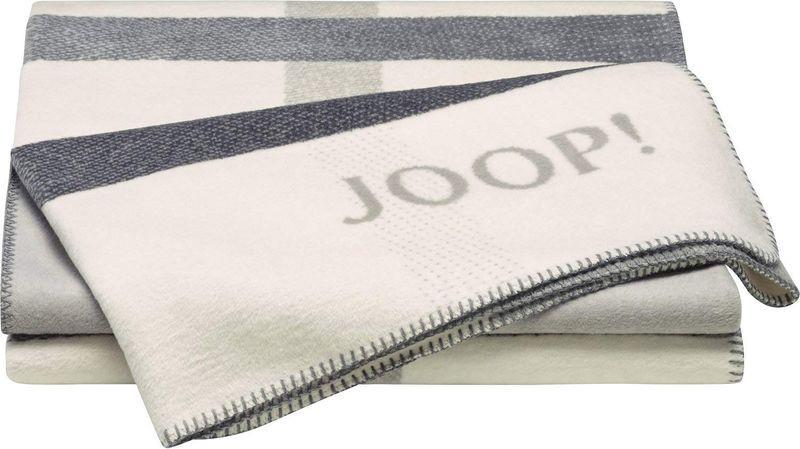 Joop Decke  JOOP Decke Square Ecru Ash 150x200cm Textilien & Teppiche