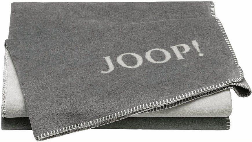 Joop Decke  Wohndecke JOOP Doubleface in zweifarbigen Design