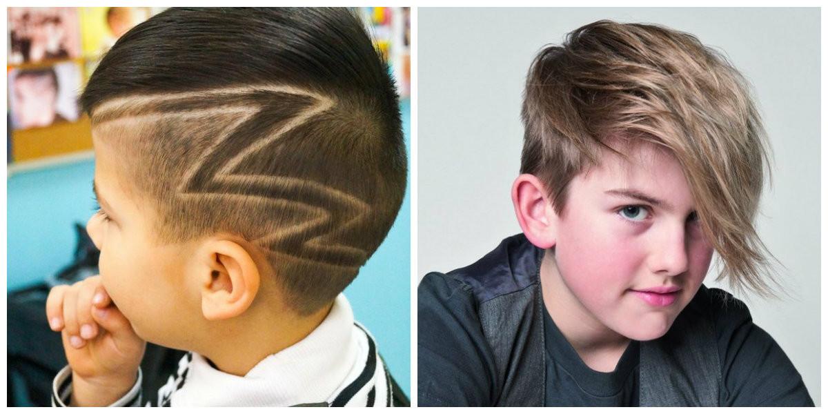Jungen Frisuren 2019  Coole Haarschnitte für Jungen 2019 Top trendige