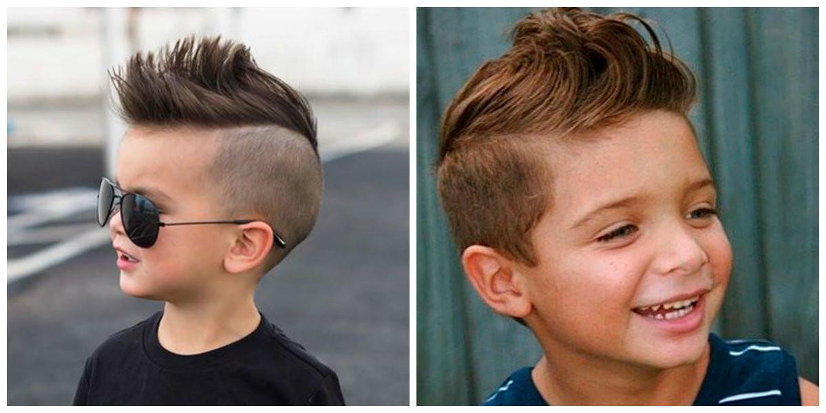 Jungen Frisuren 2019  Jungen Haarschnitte 2019 Topmodische Haarschnitt Ideen
