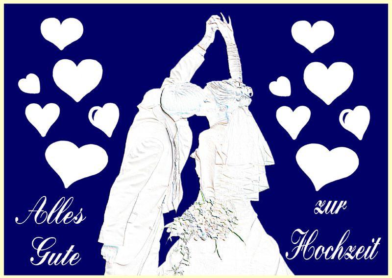 Karten Zur Hochzeit  Ballonflugkarten Hochzeit Hochzeitspaar Glückwünsche