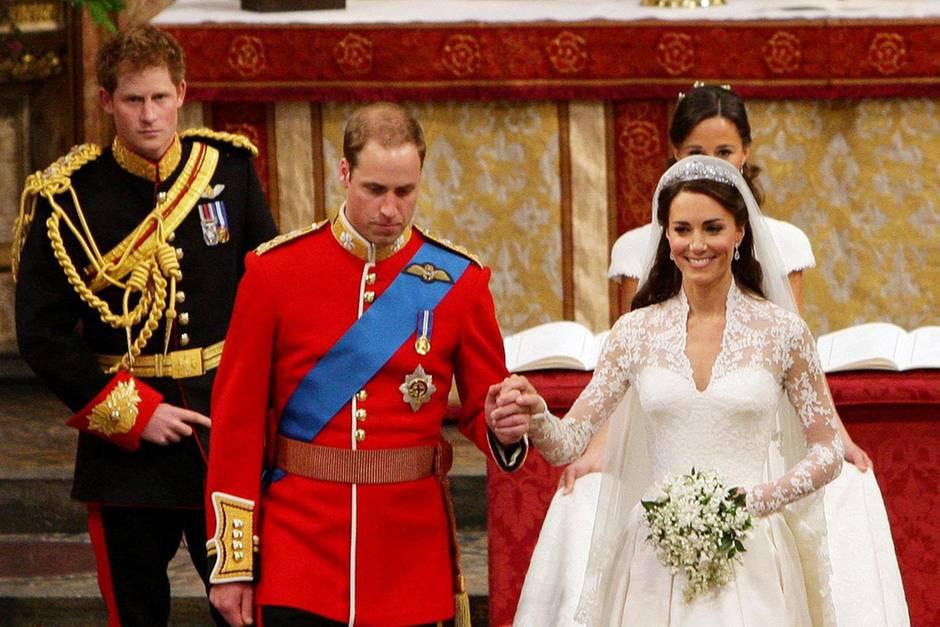 Kate Middleton Hochzeit Harry  Prinz Harry So brachte er Kate bei der Hochzeit mit