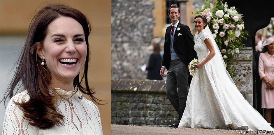 Kate Middleton Hochzeit Harry  Herzogin Kate zeichnet Sketch für Pippa Middletons Hochzeit