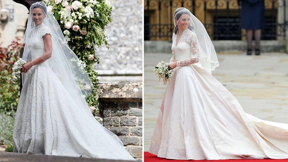 Kate Middleton Hochzeit Harry  Der Mann das Kleid Kirche Die Hochzeiten von Pippa