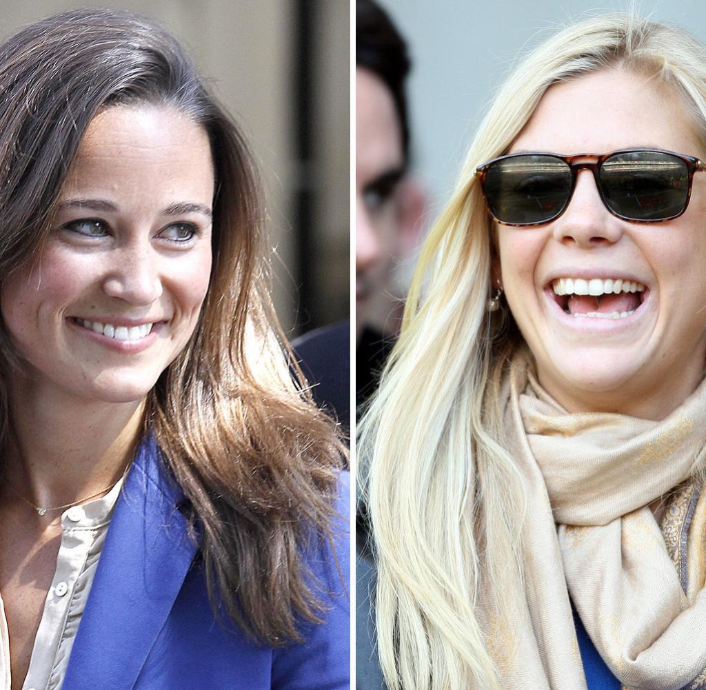 Kate Middleton Hochzeit Harry  Wunsch Traumpaar Harrys und Pippas schlüpfrige Kosenamen