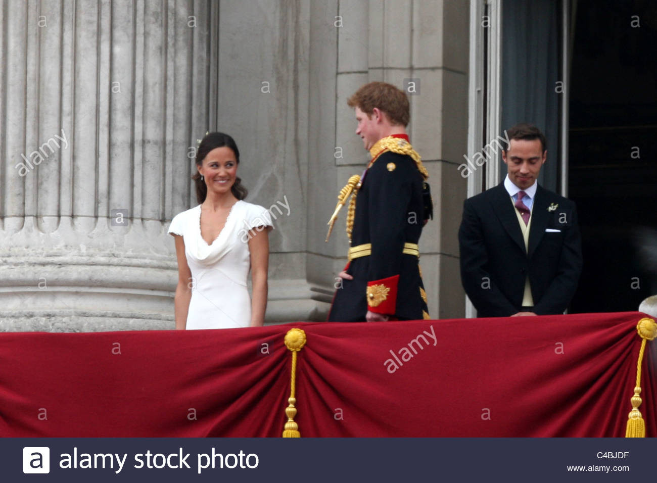 Kate Middleton Hochzeit Harry  Kate William Wedding Pippa Harry Stockfotos & Kate William