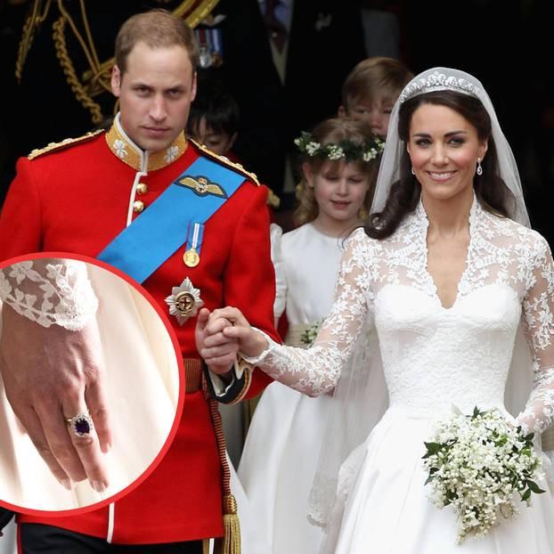 Kate Und William Hochzeit  Herzogin Kate Als Braut trug sie den Essie Nagellack